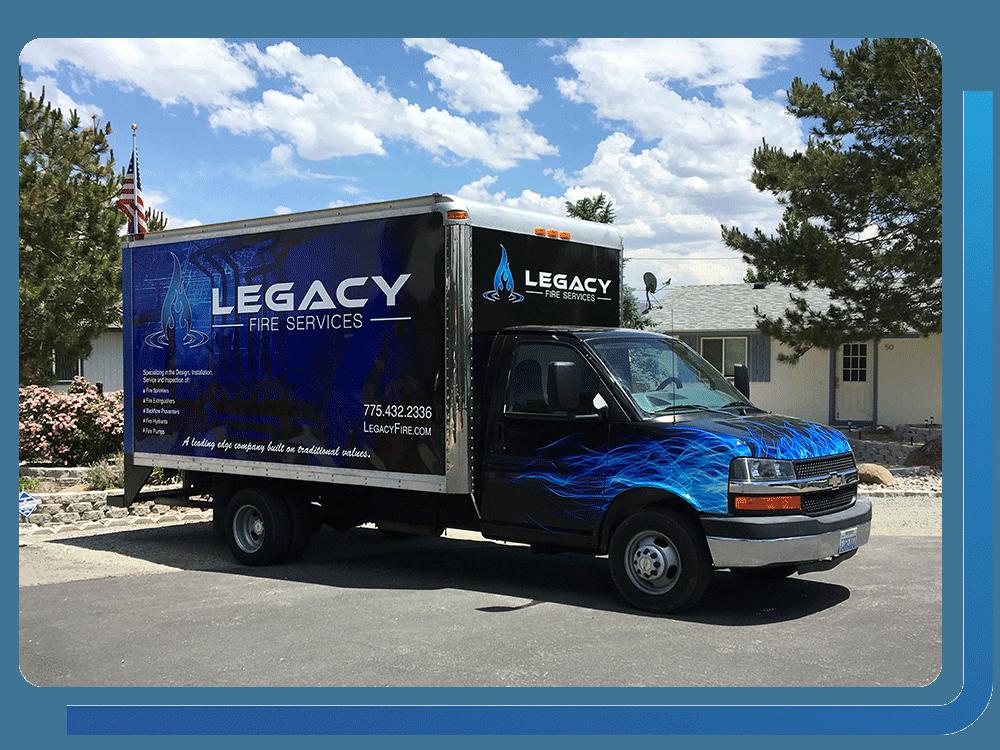 Legacy Fire Truck